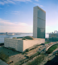 The UN Headquarters in New York, where the Statistics Division will help with the national 2020 censuses