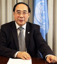 Mr Wu Hongo, UN Under-Secretary General for Economic and Social Affairs, opened the Session
