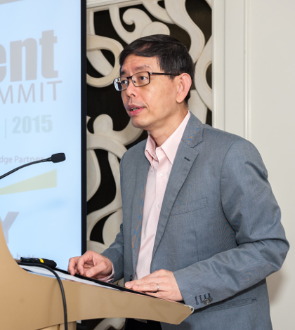 Peter Ong, Head of Civil Service and Permanent Secretary, Ministry of Finance, Singapore opens the inaugural Global Government Finance Summit
