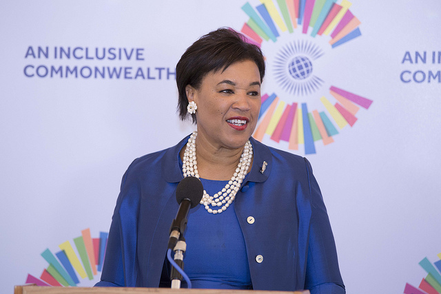 Commonwealth Secretary-General Rt Hon Patricia Scotland QC
