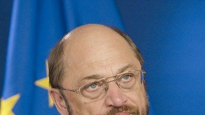 European Parliament president, Martin Schulz