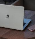Image of laptop on desk